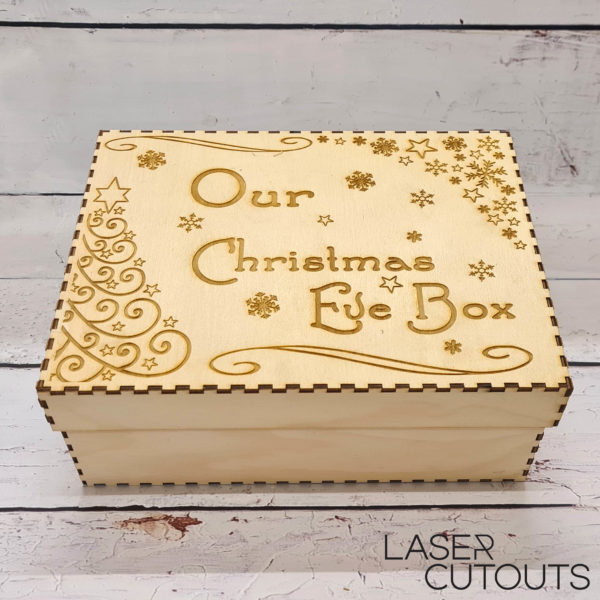 Box with lid – Christmas Eve box (one name only)