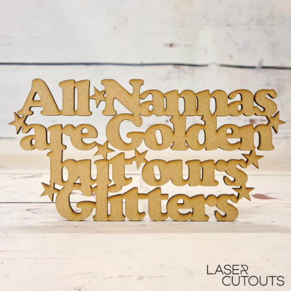 All Nannas are golden but ours glitters