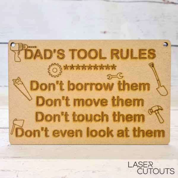 Tools Rules – Plaque
