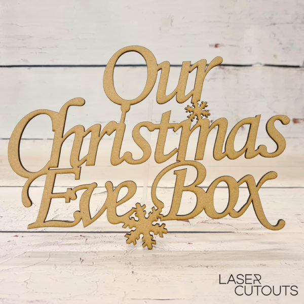 Personalised Christmas Eve Box Topper Style 2