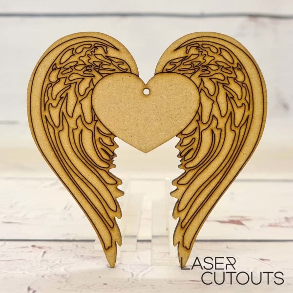 Wings with heart