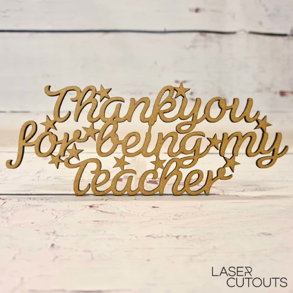 Thankyou for being my teacher