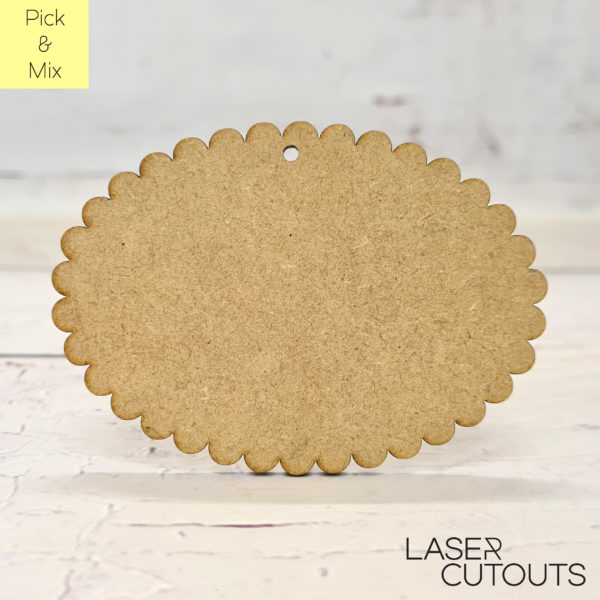 Scalloped Oval
