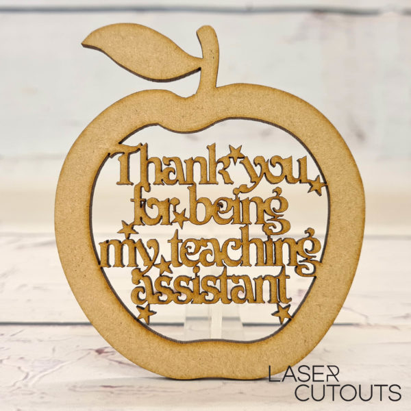 Apple – Thank you for being my teaching assistant