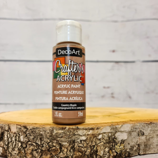 Decoart Crafters Acrylic Paint – Country Maple