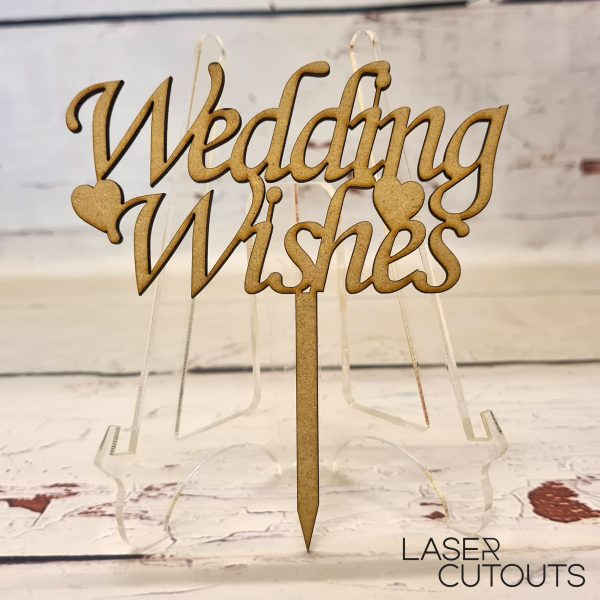 Wedding Wishes – Cake Topper